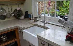 gray kitchen backsplash kitchen concrete countertops grey sleek kitchen knife molded glass