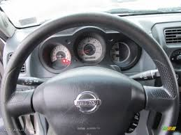 nissan frontier xe 2008 2004 nissan frontier xe v6 king cab 4x4 gray steering wheel photo