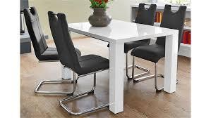 Weisser Hochglanz Schreibtisch Elke Weiß Hochglanz Ausziehbar 120 160x90 Cm