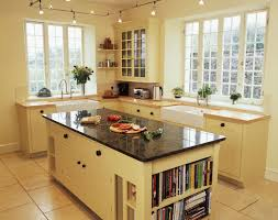 Modern Country Kitchen Ideas Light Reflective Floor And Worktop Trends Also Country Style Tiles