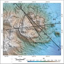 Ouachita Mountains Map Aeromagnetic Mapping Of The Structure Of Pine Canyon Caldera And