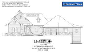 hot house plans hot springs cottage 2653 house plan house plans by garrell