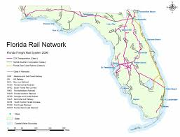 Florida Towns Map Facts All Aboard Florida High Speed Train