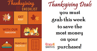 up of thanksgiving deals to grab this week at smith s