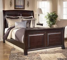 Marlo Furniture Liquidation Center by Signature Design By Ashley Ridgley King Sleigh Bed Ahfa Sleigh