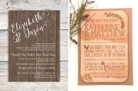 wedding invitations edmonton 20 wood wedding invitations southbound