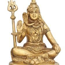 amazon com small statue shiva idol for home temple mandir and