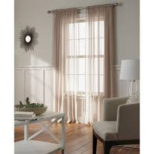 chiffon sheer curtain panel threshold target