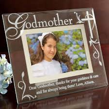 personalized godmother godfather glass picture frame walmart