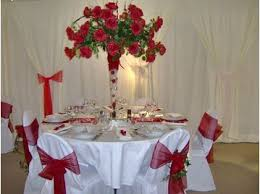 Center Table Decorations Sa Party Rentals And Decorations Dress Your Tables And Chair
