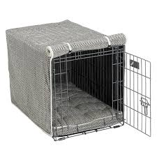 Dog Crate Covers Bowsers Diamond Collection Luxury Crate Covers