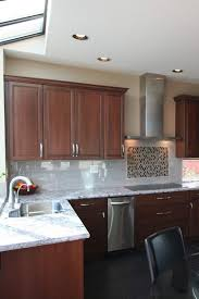 brown kitchen cabinets to white cabinets with white granite countertops countertopsnews