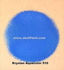 kryolan face paint aquacolor 510 royal blue