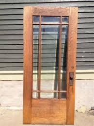 9 Lite Exterior Door Architectural Warehouse 5801 Oak Entry Door 9 Lite Beveled Glass