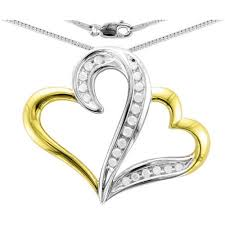 heart necklace gold plated images Heart 2 heart 1 5 carat t w diamond sterling silver yellow gold jpeg