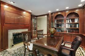 Luxurious Home Office Design Happily Make And Decorating - Luxury home office design