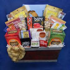 saber tooth paleo gift basket a generous basket to send
