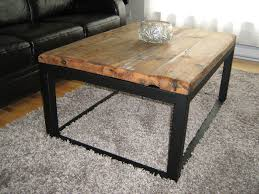 furniture extraordinary wood metal coffee table design ideas