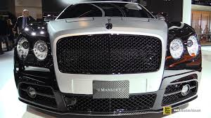 flying spur bentley interior 2016 bentley flying spur mansory exterior and interior