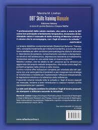 dbt skills training manuale schede e fogli di lavoro con usb