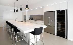 Kitchen Design Nz Designer Contemporary Kitchen Black And White Neo Design