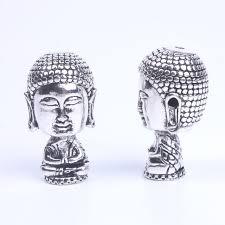 online shop 1pcs ancient silver tibetan buddhism mala guru beads