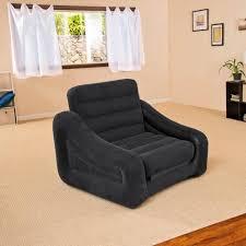 canapé convertible gonflable intex fauteuil lit gonflable chaise 1 personne pour dortoir hôtel cing