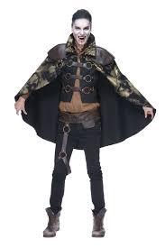 mens shadow stalker gothic costume cape vest famous