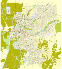california map pdf sacramento pdf map california exact vector city plan map