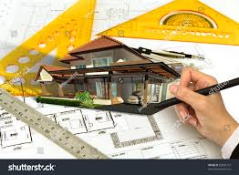 hand draw blueprint house stock photo 82802773 shutterstock