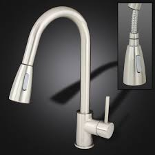 Brushed Nickel Faucet Kitchen by Gothobby Brushed Nickel 16