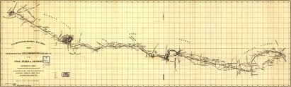 Ohio Railroad Map by Map Of The Hillsborough And Cincinnati Railroad 1852