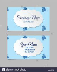 floral business card template stock vector art u0026 illustration