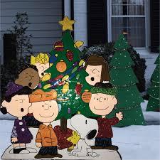 tis your season peanuts around tree