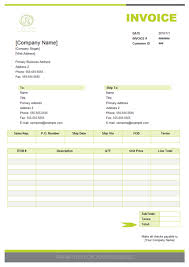 example of a invoice look at an invoice created with quoteinvoice maker resume templates