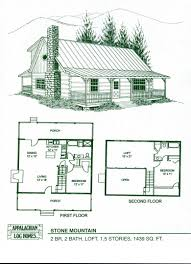 One Story Cabin Plans Log Cabin House Plans One Story