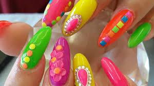 crazy nail art 4minute 미쳐crazy kpop nail art youtube keha