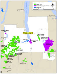 Cayuga County Map Map Of Schuyler County Map Nys Dept Of Environmental Conservation