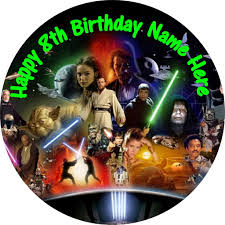 wars edible cake toppers wars lego starwars cake topper edible rice paper select