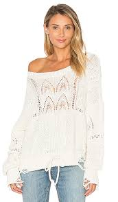 wildfox couture addie sweater alabaster wildfox couture