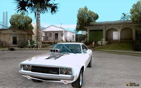 fast and furious 7 cars 1970 dodge charger rt the fast and the furious for gta san andreas
