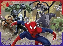 ravensburger 100 xxl piece puzzle ultimate spiderman sinister 6