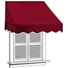 Rv Window Awnings Sale Amazon Com Outsunny Drop Arm Manual Retractable Window Awning 6