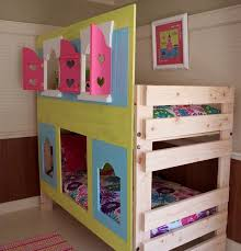 Kid Loft Beds Best 25 Bunk Bed Fort Ideas On Pinterest Loft Bunk Beds Loft