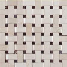 Mosaic Monday A Fresh Take On Backsplashes With Basketweave - Basket weave tile backsplash