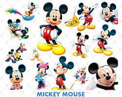 mickey mouse clipart etsy