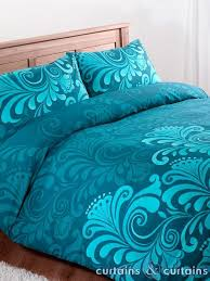 King Size Turquoise Comforter Teal Floral Luxury Printed Duvet Cover Teal Comforter Comforter