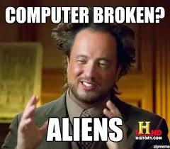 Meme Maker Aliens - ancient aliens weknowmemes generator