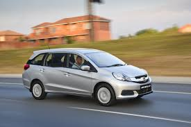 mpv car 7 seater honda launches 7 seat mobilio in south africa www in4ride net