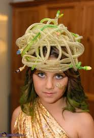 medusa hair costume child s diy medusa costume photo 3 5